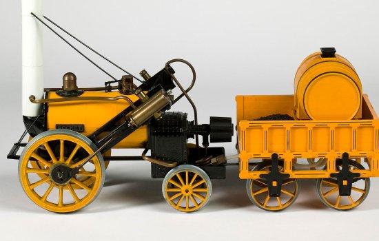 Toy model of Stephenson's Rocket