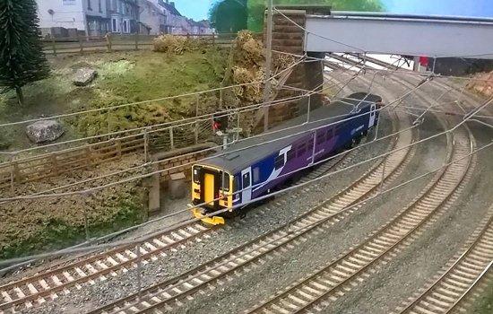 Model railway display