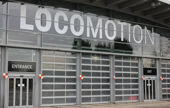 Locomotion entrance