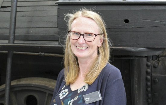 Dr Sarah Price at Locomotion