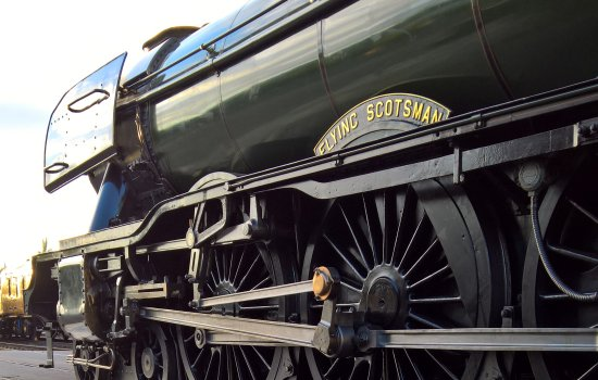 Flying Scotsman side view
