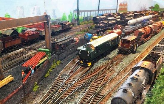 A model railway layout