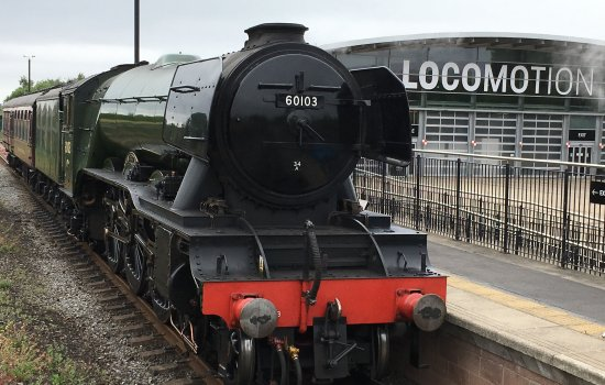 Flying Scotsman at Locomotion