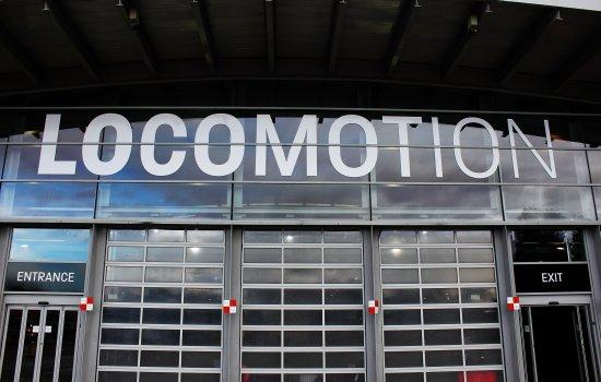 Locomotion entrance