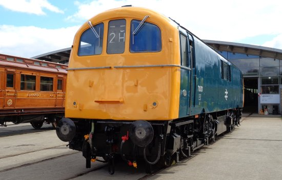 Class 71 at Locomotion