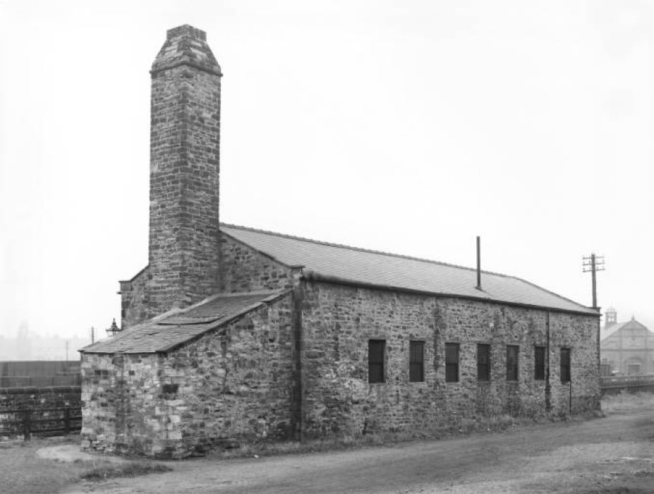 Historic buildings at Locomotion