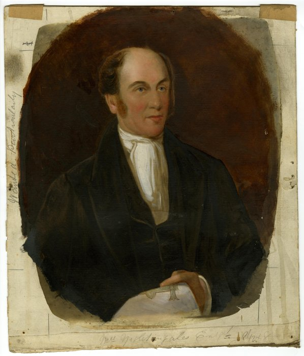 Oil painting of Timothy Hackworth c.1840