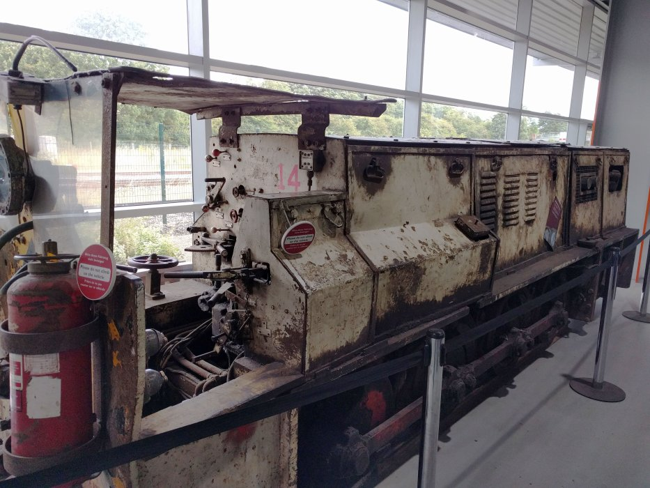 Ellington mining loco No. DM1274