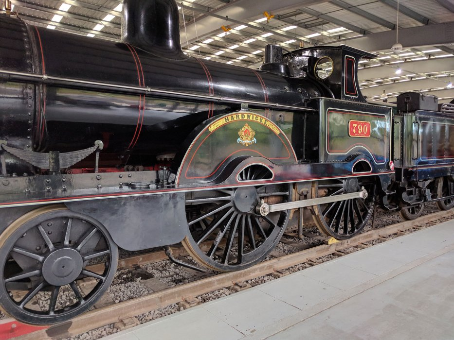 LNWR locomotive Hardwicke