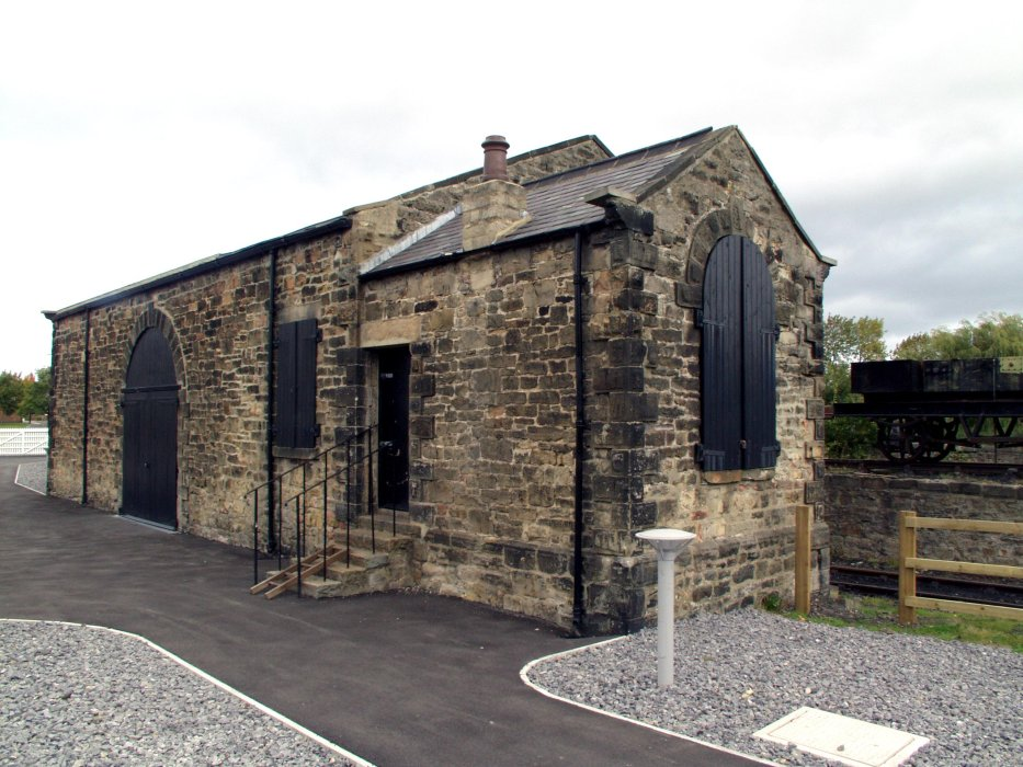 The goods shed at Locomotion