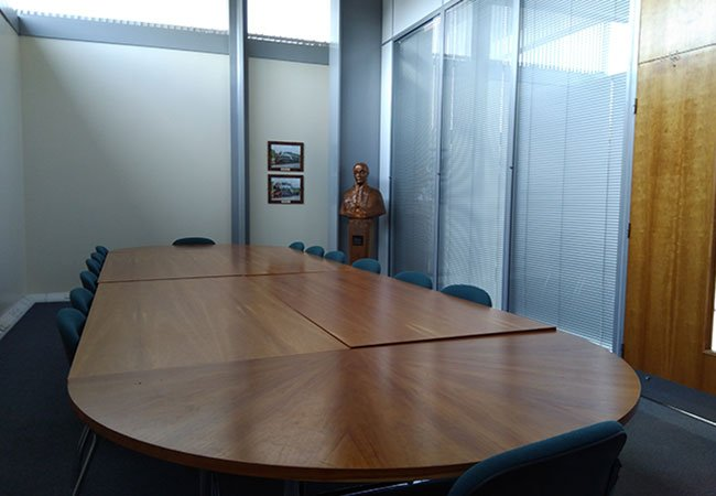 The Hackworth meeting room at Locomotion