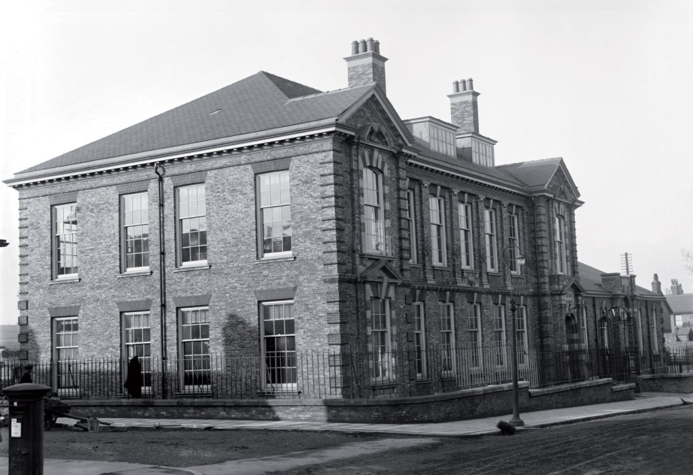 Shildon Mechanics' Institute in the early 20th century