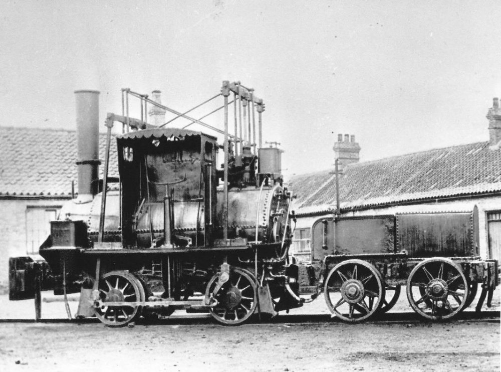 Victorian locomotive
